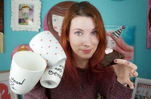 Πως να φτιάξεις Cupcakes & DIY κούπες για τη μέρα των ερωτευμένων!