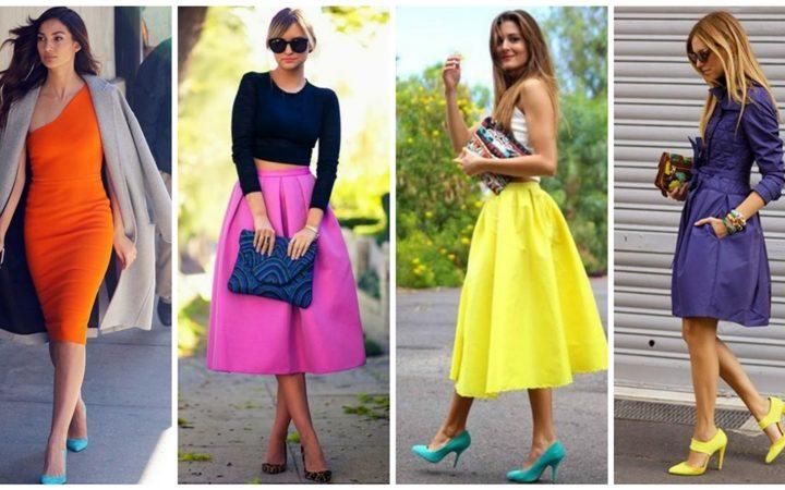 30 Φανταστικές ιδέες για να φορέσεις τις χρωματιστές γόβες!