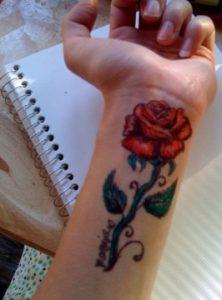 trisdiastato tatouaz triantafyllo