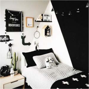 black n' white kids bedroom ediva.gr