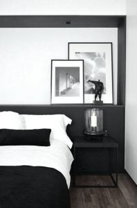 black & white bedroom ediva.gr