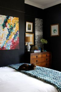 cosy black bedroom ediva.gr