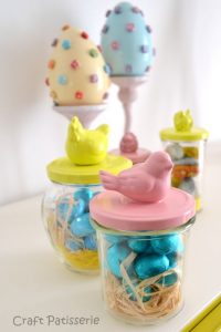 easter jars ideas
