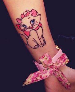 gatoula marie, tatouaz sto cheri