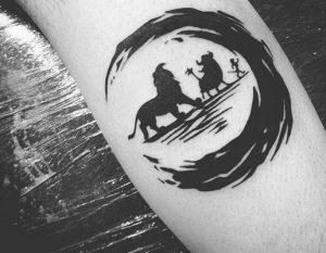 lion king, hakuna matata tatoo