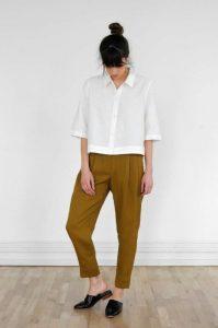 minimalist trousers