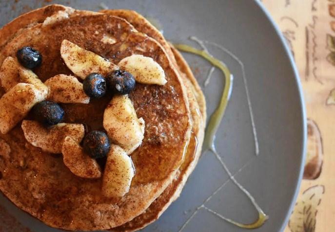 Εύκολη συνταγή για pancakes με βρώμη!
