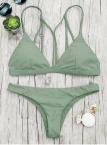 chaki bikini