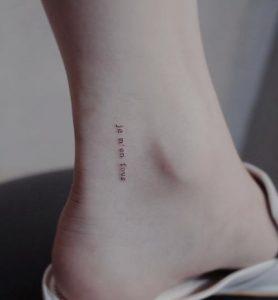 je m'en fous diakritiko tattoo