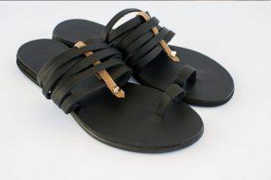 mavra dermatina sandalia