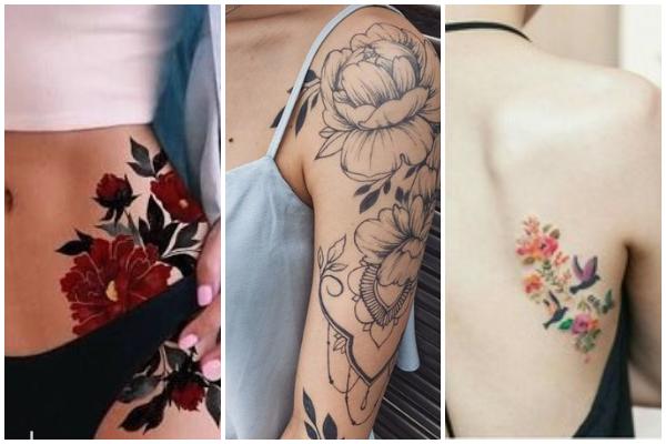 20 Πανέμορφα τατουάζ με λουλούδια!