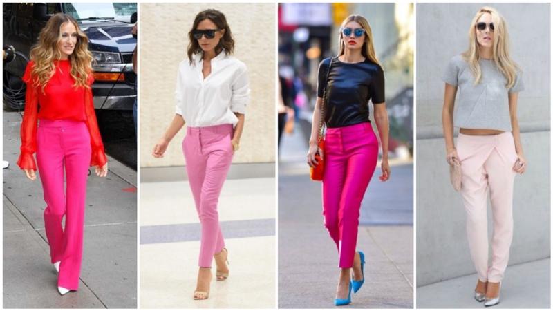 Πως να φορέσεις το αγαπημένο σου ροζ παντελόνι!  fbc114ef868