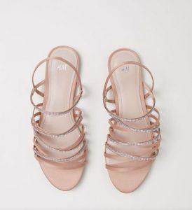 apalo roz sandali me stras H&M
