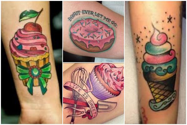 30 Ιδέες για τατουάζ με γλυκά!