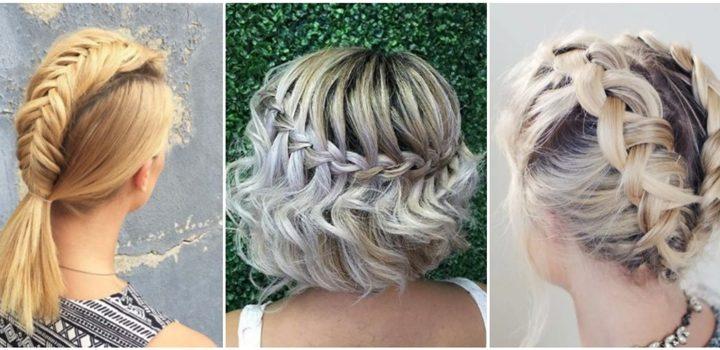 9 Υπέροχα χτενίσματα με πλεξούδες για κοντά μαλλιά!