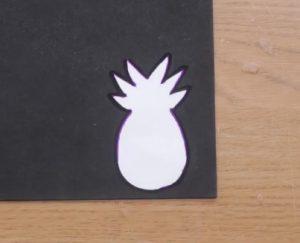 stencil anana se tsocha