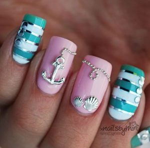 thalassino nail art