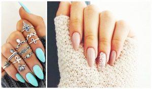 Σε ποιες γυναίκες πάνε τα αμυγδαλωτά νύχια!