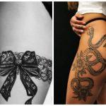 gynaikeia tattoo sto mpouti