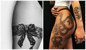 20 Εντυπωσιακά γυναικεία τατουάζ στο μπούτι!