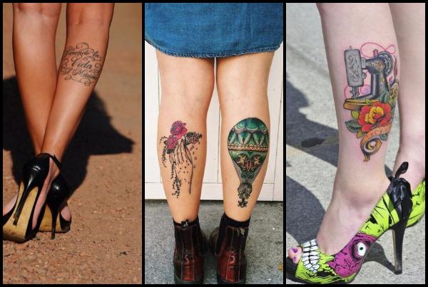 20 Όμορφες ιδέες για τατουάζ στην γάμπα!