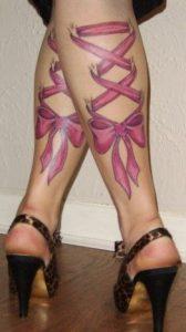 korses tatoo stis gampes