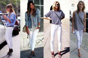 7 Συνδυασμοί για να απογειώσεις το λευκό jean!