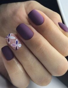 mov matte manicure