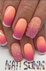 ombre galliko manicure