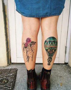 omorfa tattoos stis gampes