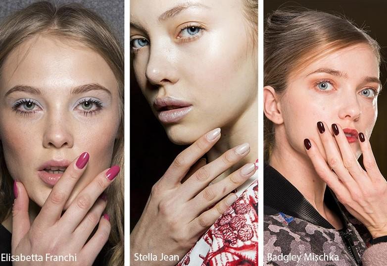 oval manicure