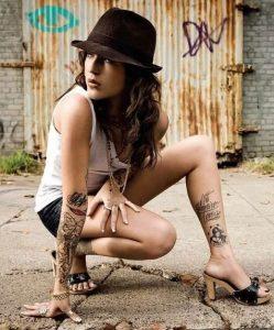 tatouaz frasi-eikona sti gampa