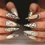 diy nail art louloudia