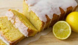 Νηστίσιμο κέικ λεμονιού με γλάσο από λεμόνι!