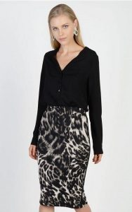 animal print fousta lynne