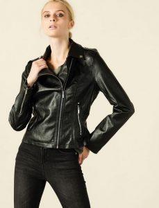dermatino biker jacket