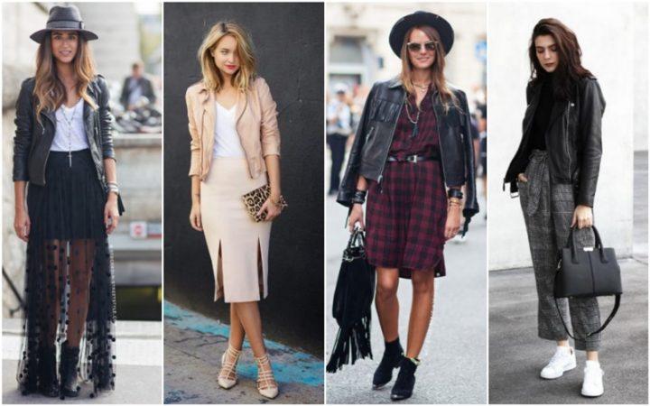 Πως να φορέσεις το δερμάτινο μπουφάν φέτος το χειμώνα!