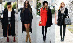 Πως να φορέσεις το μαύρο παλτό φέτος το χειμώνα!
