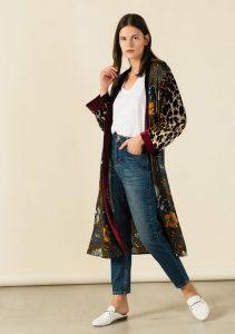 kimono me veloudini afi