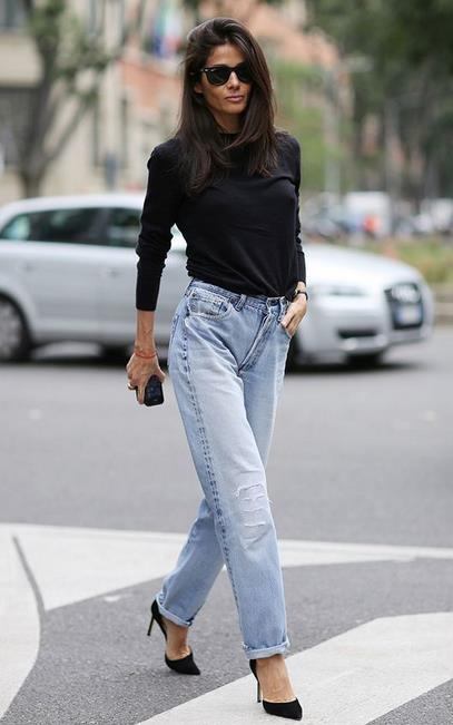 5e0df3c156ad Πες αντίο στα εφαρμοστά skinny jeans και υποδέξου τα φαρδιά