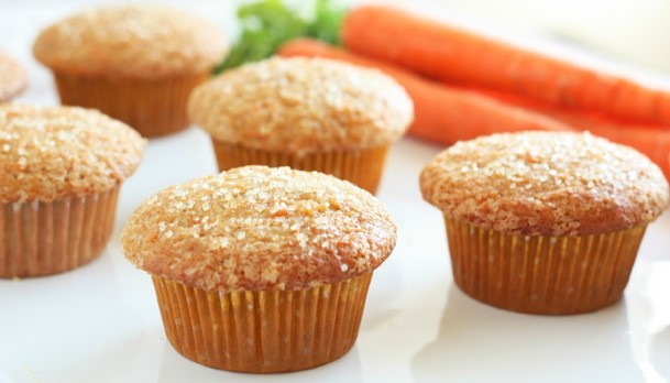 Νόστιμα, νηστίσιμα muffins καρότου!