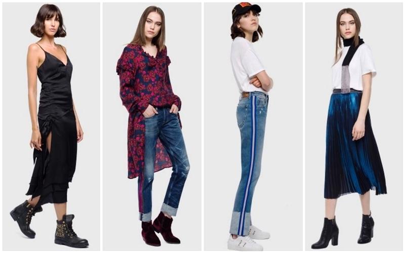 a2fc3888ab1d Γυναικεία ρούχα Replay για το φθινόπωρο-χειμώνα 2019!