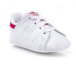 leuko roz adidas smith paidiko
