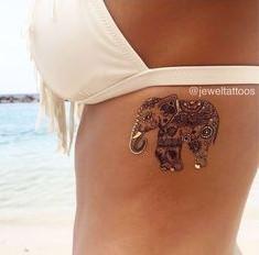 entipwsiako tattoo elefantas