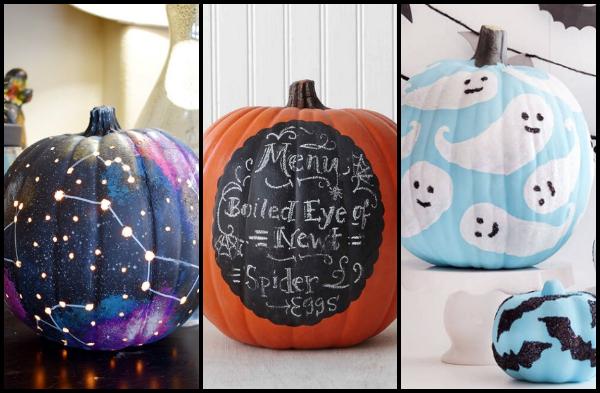 10 Υπέροχες ιδέες για DIY διακοσμημένες κολοκύθες για το Halloween!