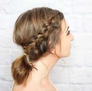 messy braided alogooura
