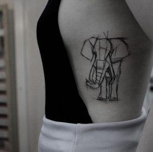 plevra elefantas tattoo