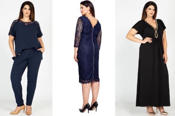 Γυναικεία ρούχα σε μεγάλα μεγέθη για γάμο ή βαφτίσια!