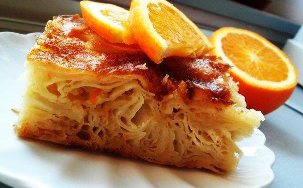 Πανεύκολη συνταγή για πορτοκαλόπιτα!