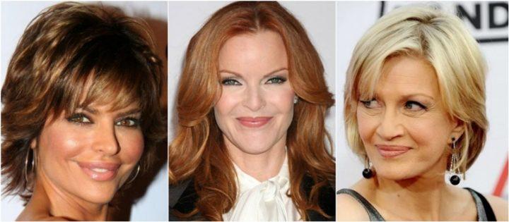 7 Πανέμορφα χρώματα μαλλιών για γυναίκες άνω των 50